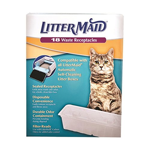 Recipientes de recambio para LitterMaid - 18 unidades