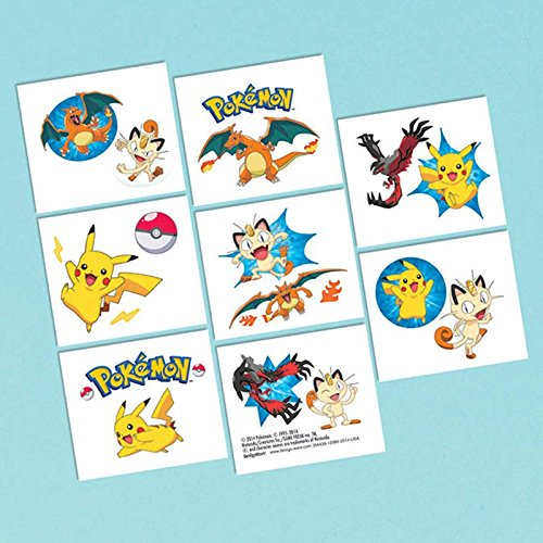 and Friends Birthday Party Temporary Tattoos Favor (1 Sheet)-16 Tattoos, 2