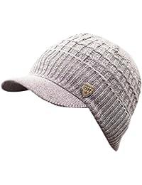 Amazon.es  El Gorro de Lana - Gorros de punto   Sombreros y gorras  Ropa d5856a71d86