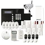 Atlantic'S NM-STV-AESUS Alarme maison sans fil GSM avec caméra/Kit mixte IP