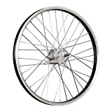Taylor Wheels 20 pollici ruota posteriore bici Inter3 contropedale nero/argento