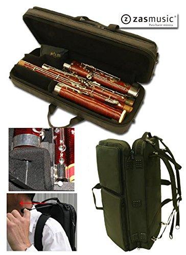 Tasche-Etui für Fagott mit Glocke-Nylon Roko