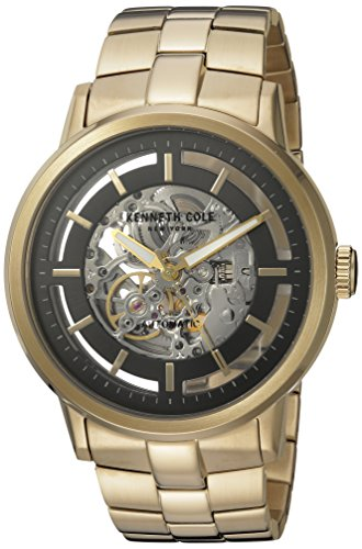 Mens Kenneth Cole Watch AUTOMATICS Model Silver and Rose Gold – 10026787