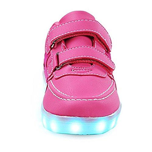 sports shoes 7b8cb 2b0f9 Led Leuchten Schuhe Mit Turnschuhe 7 Farben USB Lade Kinderschuhe Brillant Sneaker  Damen Herren Kinder Jungs ...