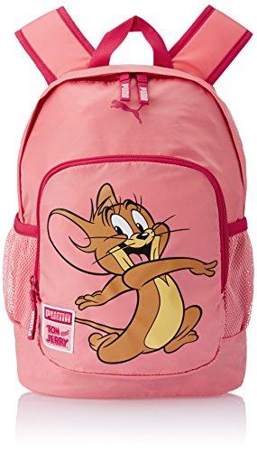 PUMA Rucksack Tom & Jerry Backpack - Mochila infantil, color rosa (salmon rose), talla 30 x 44 x 22 x 22 , 29.0 l