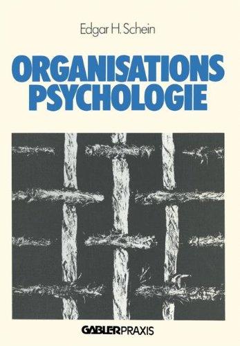 Organisationspsychologie (Führung - Strategie - Organisation)