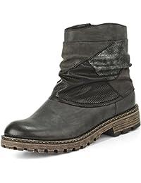 Rieker Y6789-45, Botines para mujer, gris