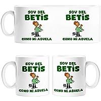 Taza Real Betis soy del Betis como mi abuela - Cerámica