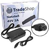 Trade shop–Adattatore caricatore cavo di ricarica 42V 2A per 36V batterie E-Bike bicicletta elettrica Pedelec bicicletta elettrica Roller