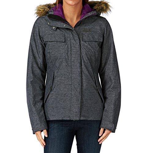 Jack Wolfskin Damen Jacke Wattiert Cypress Mountain Jacket Grey Heather