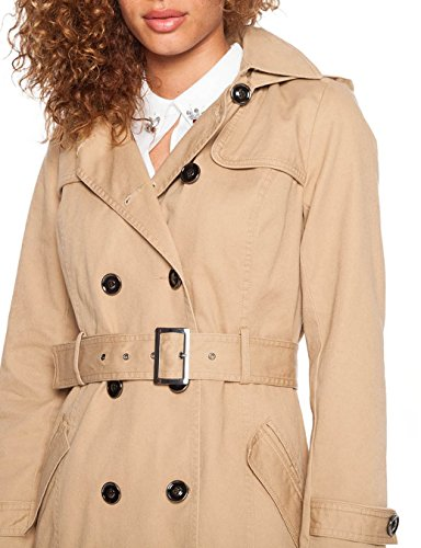 Cache - Cache - Femme - Trench - Manches - Longues Beige (Curds/Whey)