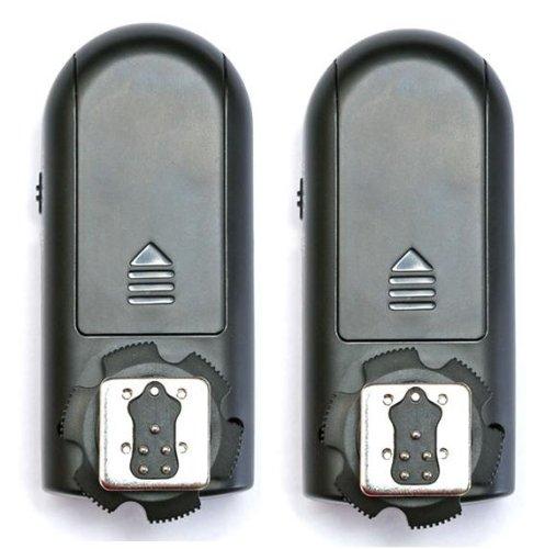 bigshop Yongnuo RF-603N II N3 wireless Funk Blitzauslöser 2 Sendeempfänger Transceivers Kit für Nikon Kameras D90 D600 D3100 D5200 D7100 - Flash-kit Nikon Für D3200