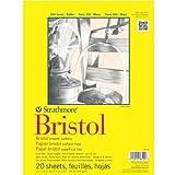 Strathmore Artist Papers 300Series Bristol Zeichenpapierblock, Glatte Oberfläche (22,9cm X 30,5 cm)