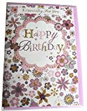 Isabel's Garden 3D Hand Crafted Happy Birthday Card- Female With Envelope