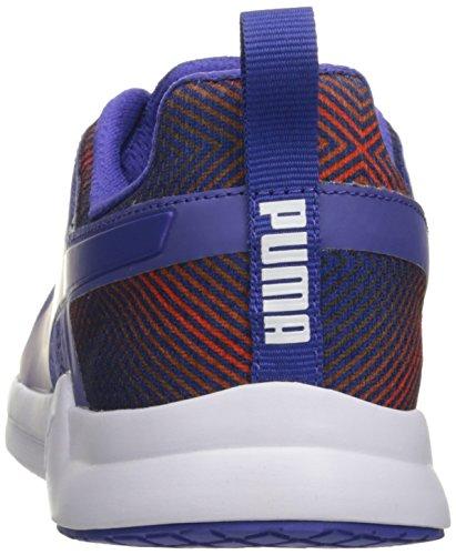 Puma Pulse XT Graphic Textile Laufschuh Royal Blue-Puma White
