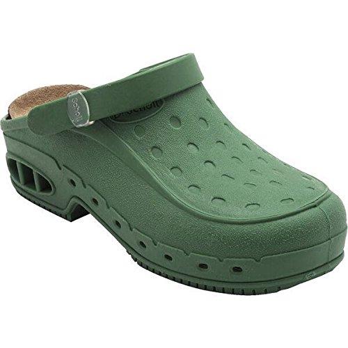 Scholl new worktime calzatura professionale, taglia: 36/37, colore: acqua