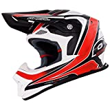 O'Neal 8Series RACE Helm Schwarz Rot MX Moto Cross Fullface