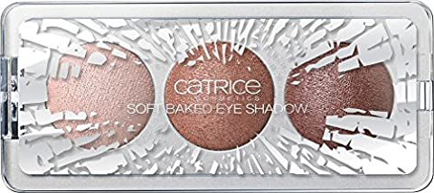 Catrice cosmetics Edition limitée Rough Luxury Soft baked Trio Fard à paupières n°C01 Rough Elegance, 2.25 g, 0.07