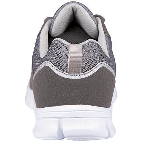 Kappa Amora Footwear Unisex, Baskets Basses mixte adulte Gris (1316 Anthra/grey)