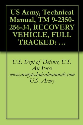 US Army, Technical Manual, TM 9-2350-256-34, RECOVERY VEHICLE, FULL TRACKED: MEDIUM, M88A1 NSN 2350-00-122-6826, (EIC AQA), military manauals, special ... military manuals on cd, (English Edition) por U.S. Army, U.S. Dept of Defense, U.S. Air Force  www.armytechnicalmanuals.com
