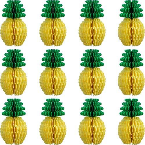 ck Ananas Waben Mittelstücke Seidenpapier Ananas 8 Zoll Party Bedarf Tisch H?ngen Dekoration Hawaiian Luau Party Geburtstag Hochzeit Nach Hause Gefallen ()