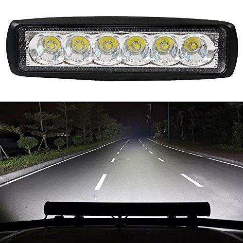 Leaftree Camion de SUV de Voiture de Brouillard Tout-Terrain de la Lampe 18W de Conduite de Feuille LED