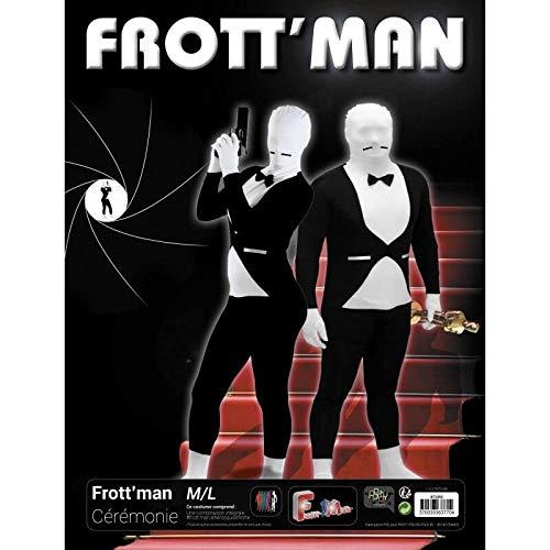 Frottman Kostüm - Party Pro 873252Kostüm Frottman-Zeremonie, schwarz, M/L