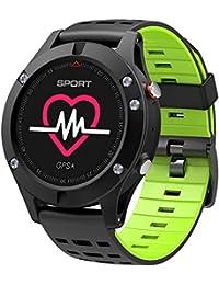 ZZXXCC Smart GPS Reloj De Ritmo Cardíaco Altímetro Termómetro Temperatura Múltiples Modo Deportivo OLED Fitness Tracker