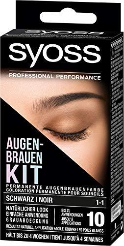 Syoss Augenbrauen-Kit 1-1 Schwarz, 1er Pack (1 x 17 ml)