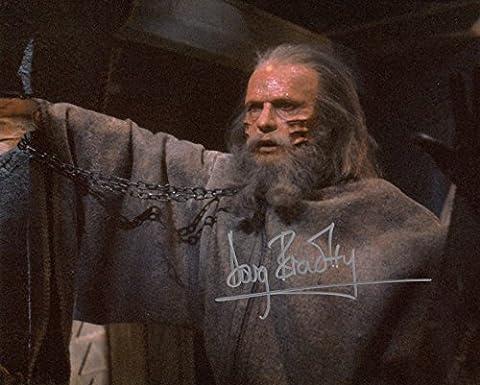 p102db Doug Bradley Signé 10x 8Photo garanti authentique Autographe