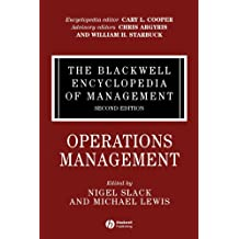 11: The Blackwell Encyclopedia of Management, Operations Management