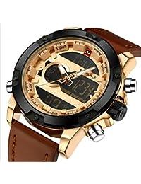NAVIFORCE TOP Luxury Brand Men's Quartz Waterproof Watches Men Fashion Sports Clock Man Leather Military Watch...