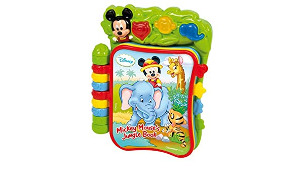 Livre De La Jungle De Disney Mickey Mouse Amazon Fr Bebes