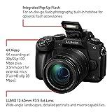 PANASONIC LUMIX G85 4K Mirrorless Camera, with 12-60mm Power O.I.S. Lens, Dual I.S. 2.0, 16 Megapixels, 3 Inch Touch LCD, DMC-G85MK (USA BLACK)