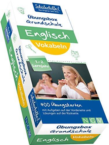 Englisch Vokabeln Übungsbox Grundschule, 1. und 2. Lernjahr: Gute Noten mit der Schülerhilfe