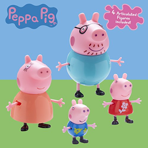 *Peppa Pig 06666 Famille Figurines Lot Vente