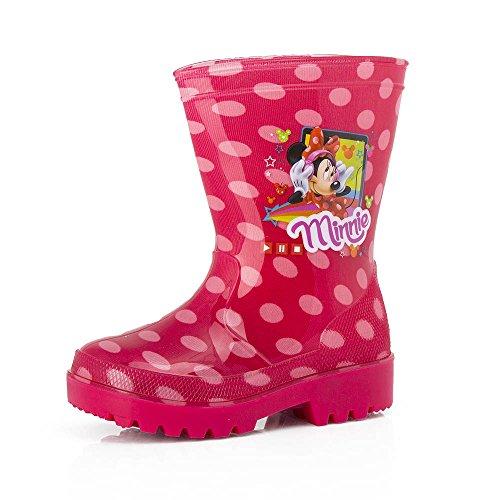 Minnie Maus Regenstiefel, Gummistiefel mit LED (Schuhe Minnie Maus)