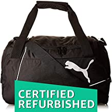 (CERTIFIED REFURBISHED) Puma Polyester 49 cms Black White Travel Duffle (7387901)