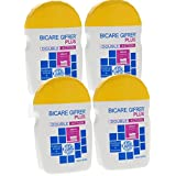 Gifrer Bicare Plus Double Action Bicarbonate de Soude + Bromélaïne - Lot de 4 x 60 g