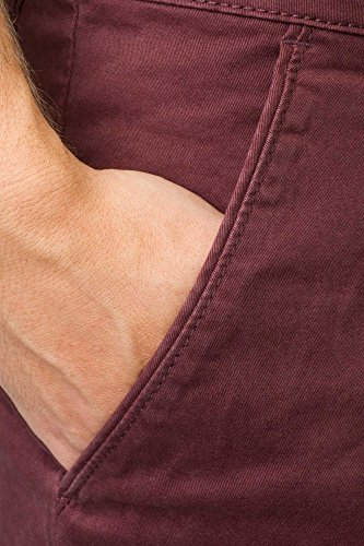 REELL Short Flex Grip Chino Short Artikel-Nr.1203-005 - 01-001 Aubergine