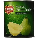 Del Monte Poires Demi-Fruits au Sirop Léger 825 g