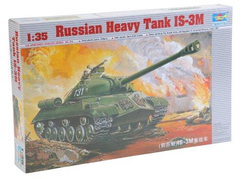 Trumpeter 00316 Modellbausatz Russischer schwerer Panzer IS-3 M