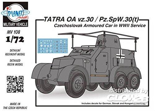 Planet Models mv108 - Modèle Kit Tatras OA VZ 30/PZ h-Spy-SPW-2.1-Mini 30T czechosl Bras
