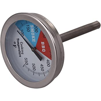 50-400℃ Barbecue BBQ Smoker Grill  Steel Temperature Thermometer Gauge、YJ