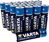 Varta Longlife Power Batterie AA Mignon Alkaline Batterien LR6 (20er Pack)