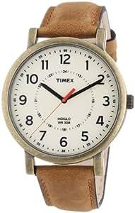 Timex Unisex-Armbanduhr Timex Style Originals Classic Round Analog Quarz Leder T2P220