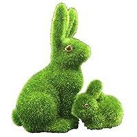 Descrizione:Questi coniglietti originali e divertenti sono fatti a mano principalmente con erba sintetica morbida e resistente,che li fa sembrare veri, e sono ideali per abbellire la casa, ufficio, le vetrine, le sale dei matrimoni, ecc.Sono ...