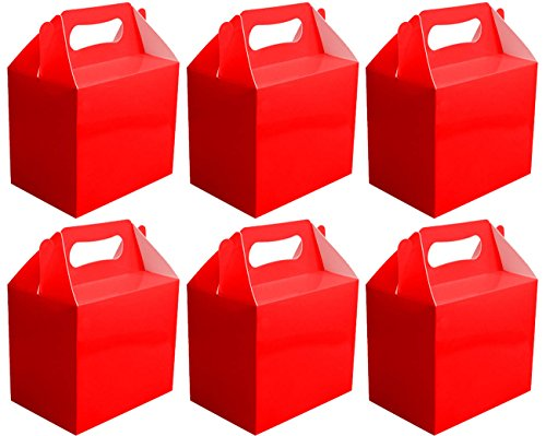 6-x-red-paper-lunch-box-going-home-present-picnic-boxes