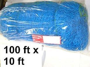 Ps Pilot Cricket Net,100ft [30.3m] x 10ft[3.03m] (Blue)