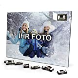 printplanet® Foto Adventskalender mit eigenem Bild personalisiert - mit Sarotti Schokolade gefüllt - Größe 35,5 x 24,5 cm